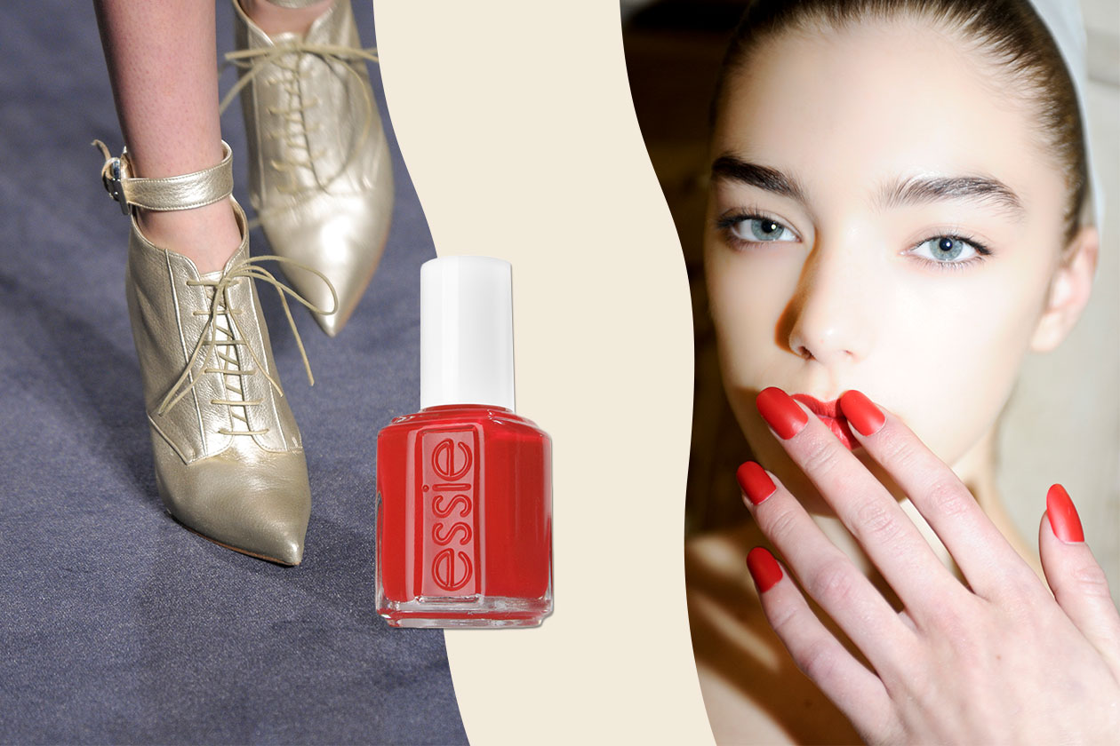 THE MAGIC COUPLE: mix&match pensato per chi ama le sfumature più chiare (Giles – Julien MacDonald  – Essie)