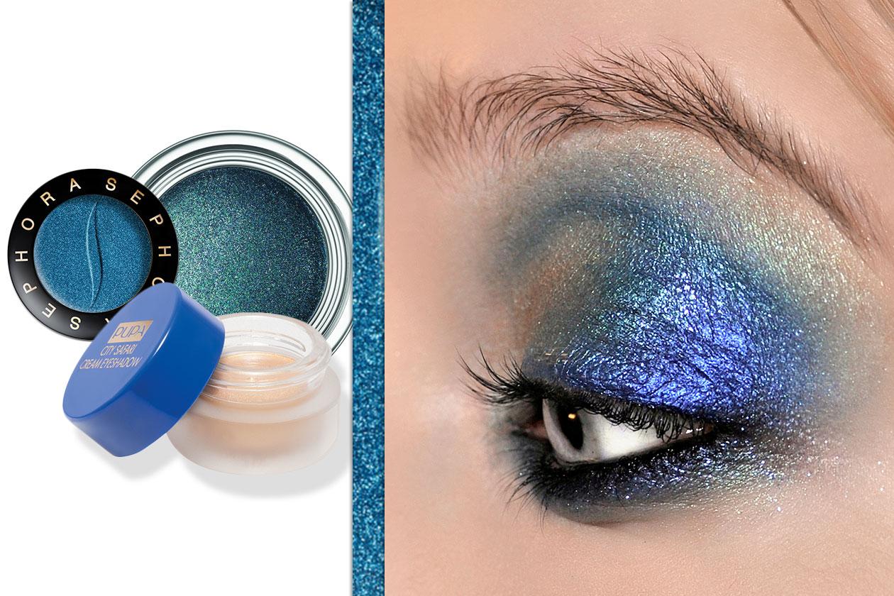 UN MIX LUMINOSISSIMO: nelle mille sfumature blu (Zac Posen – Dior – Pupa – Sephora)