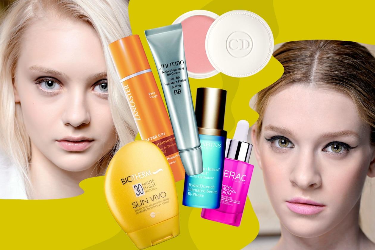 Il beauty kit per la settimana bianca dalla protezione solare al make up idratante