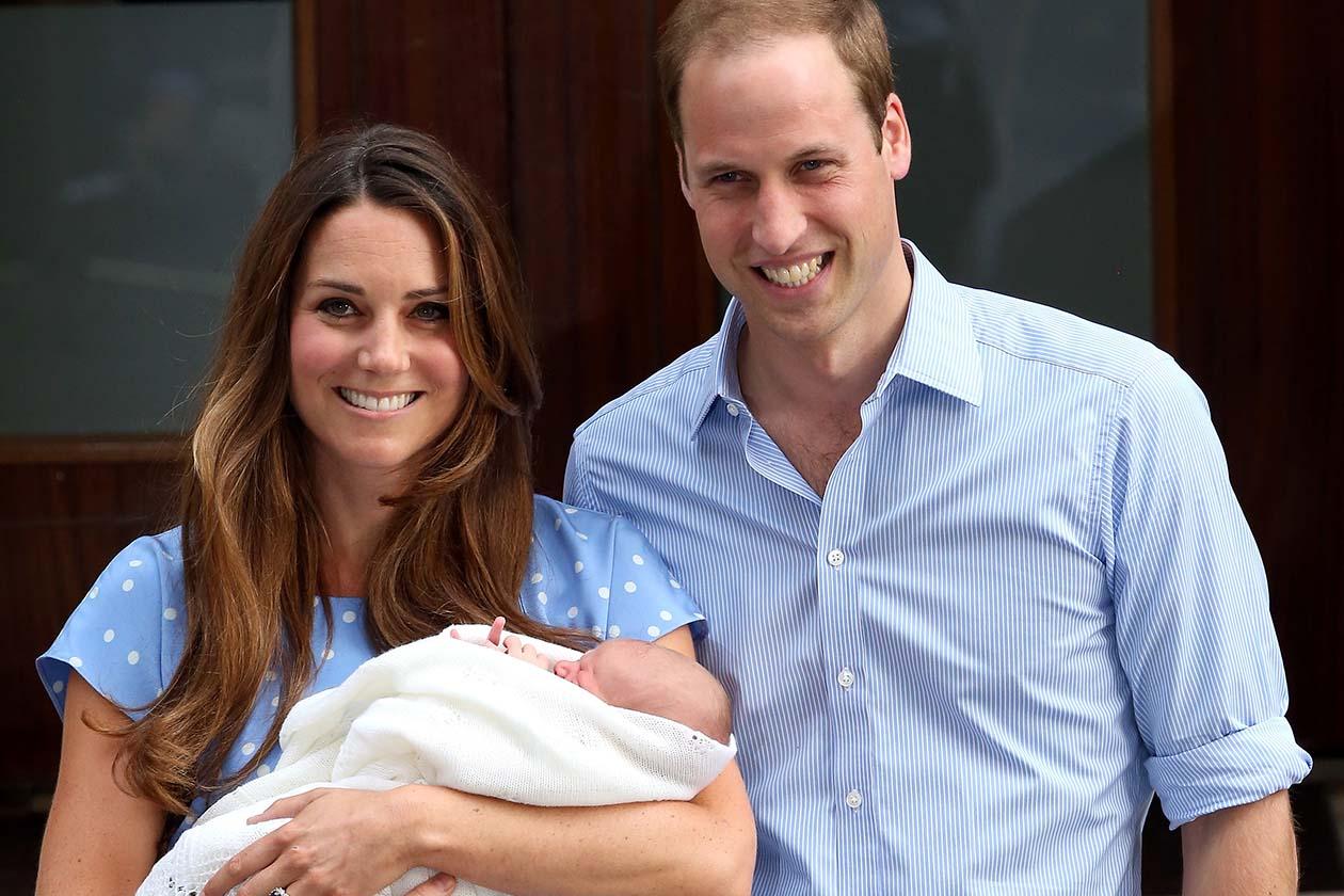 Al primo posto, inevitabilmente, la nascita del Royal Baby, che si è pure fatto attendere