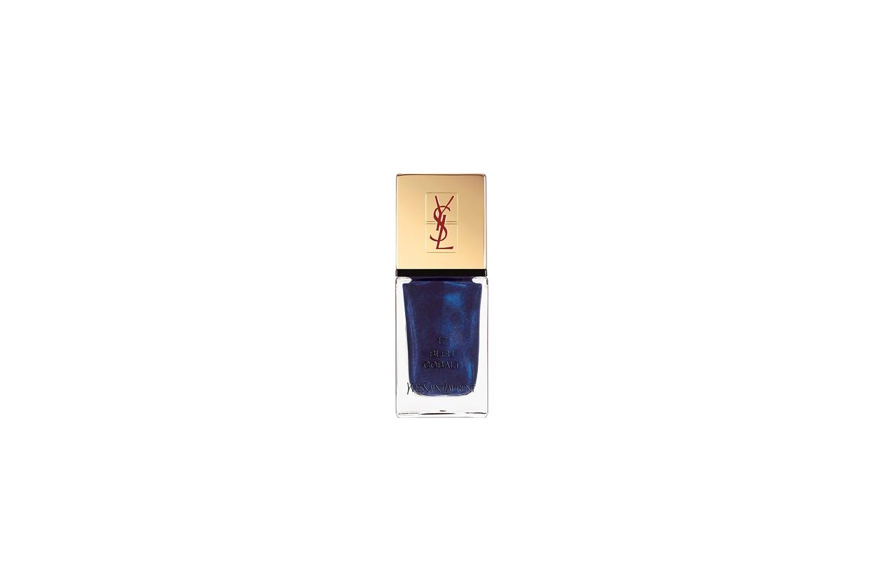 1 yves saint laurent la laque couture bleu cobalt