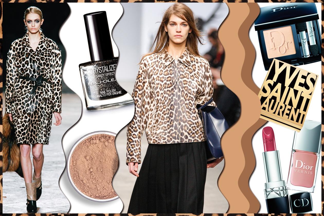 Animalier: lo stile maculato come evergreen. Gli abbinamenti beauty&fashion scelti da Grazia.IT