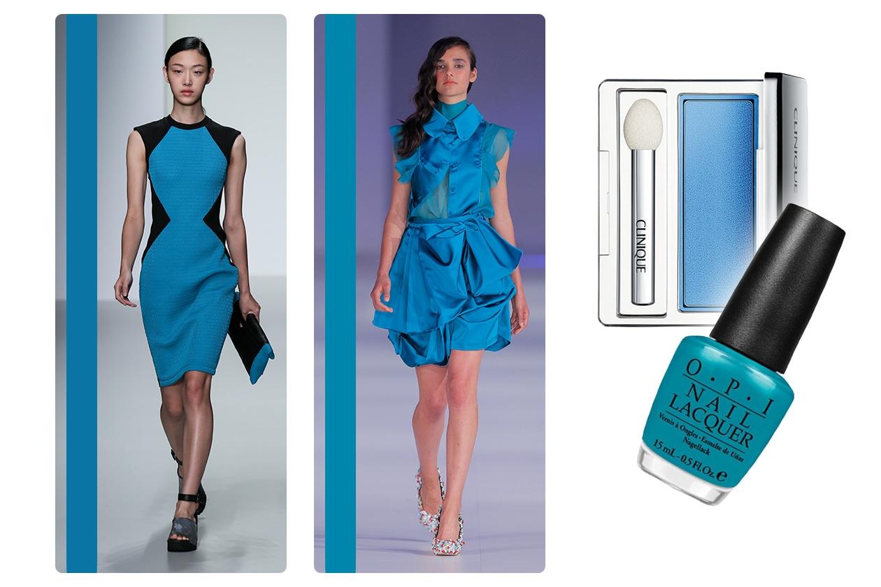 BEAUTY PE 2014 COLOR PALETTE dazzling blue