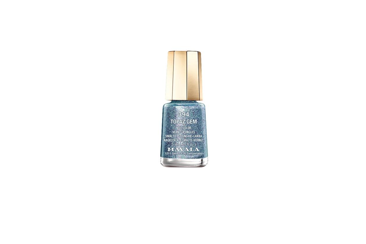 Beauty Frozen Nails la couleur topaz gem est un bleu topaze