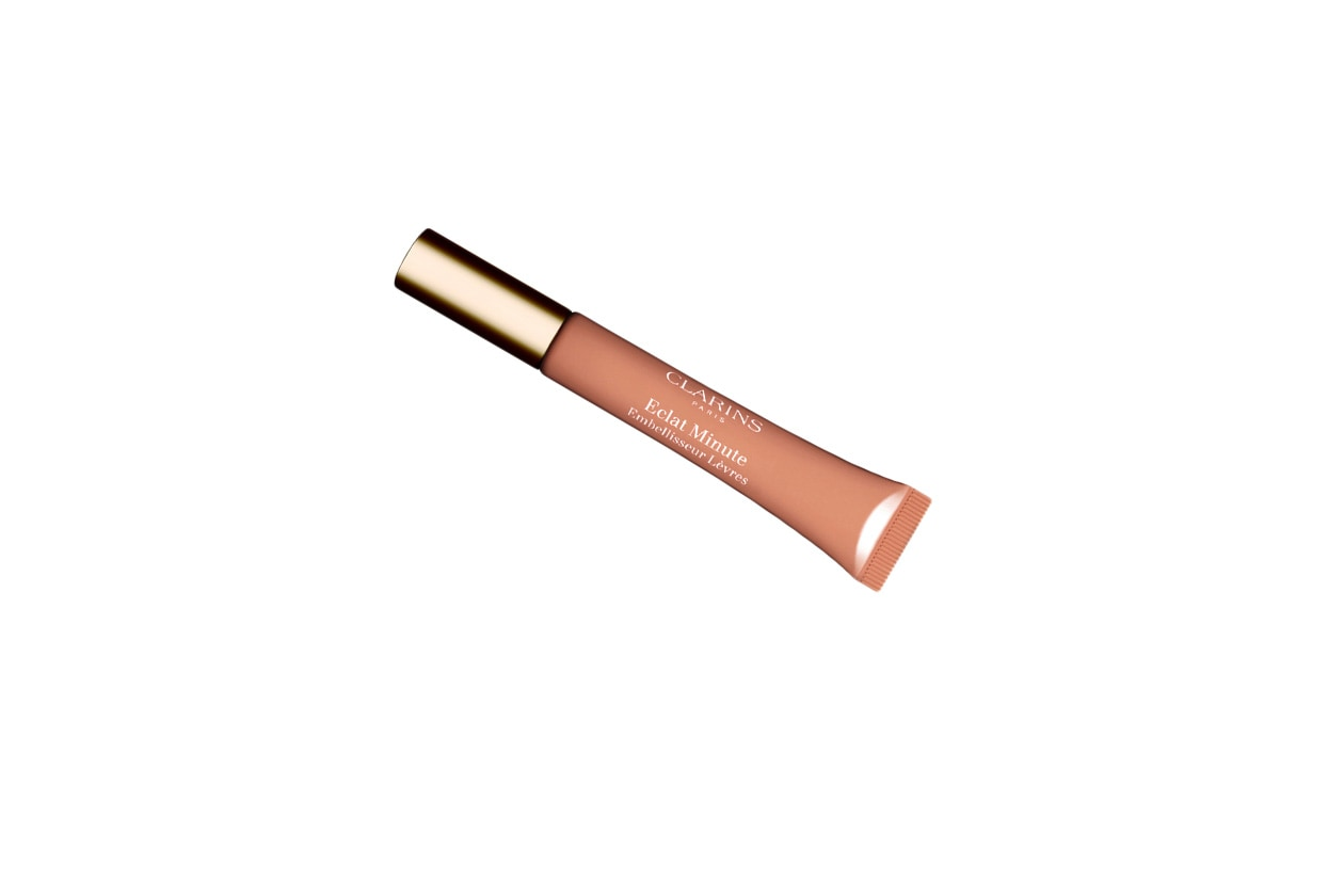 Beauty Kylie Minogue clarins Embellisseur lèvres nude shimmer