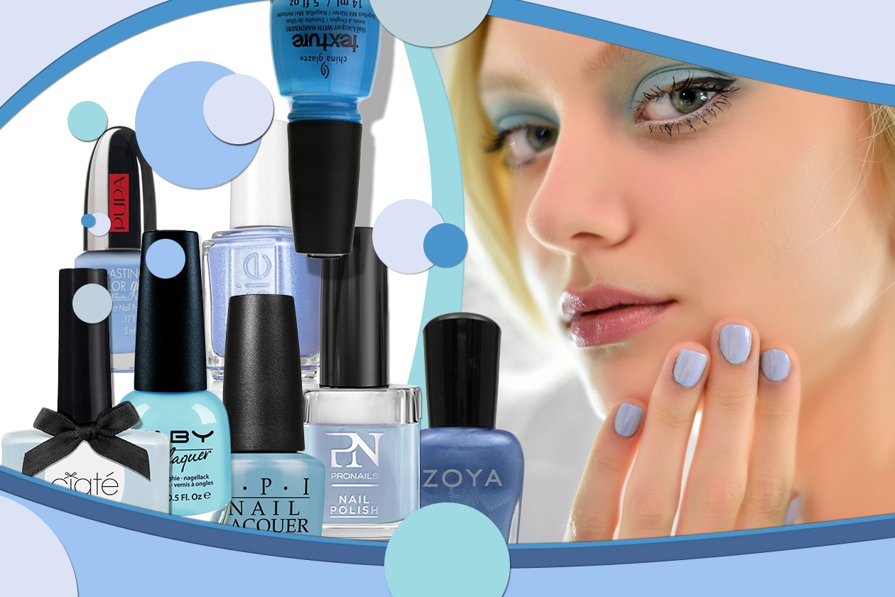 Beauty Placid Blue Manicure 00 Cover collage