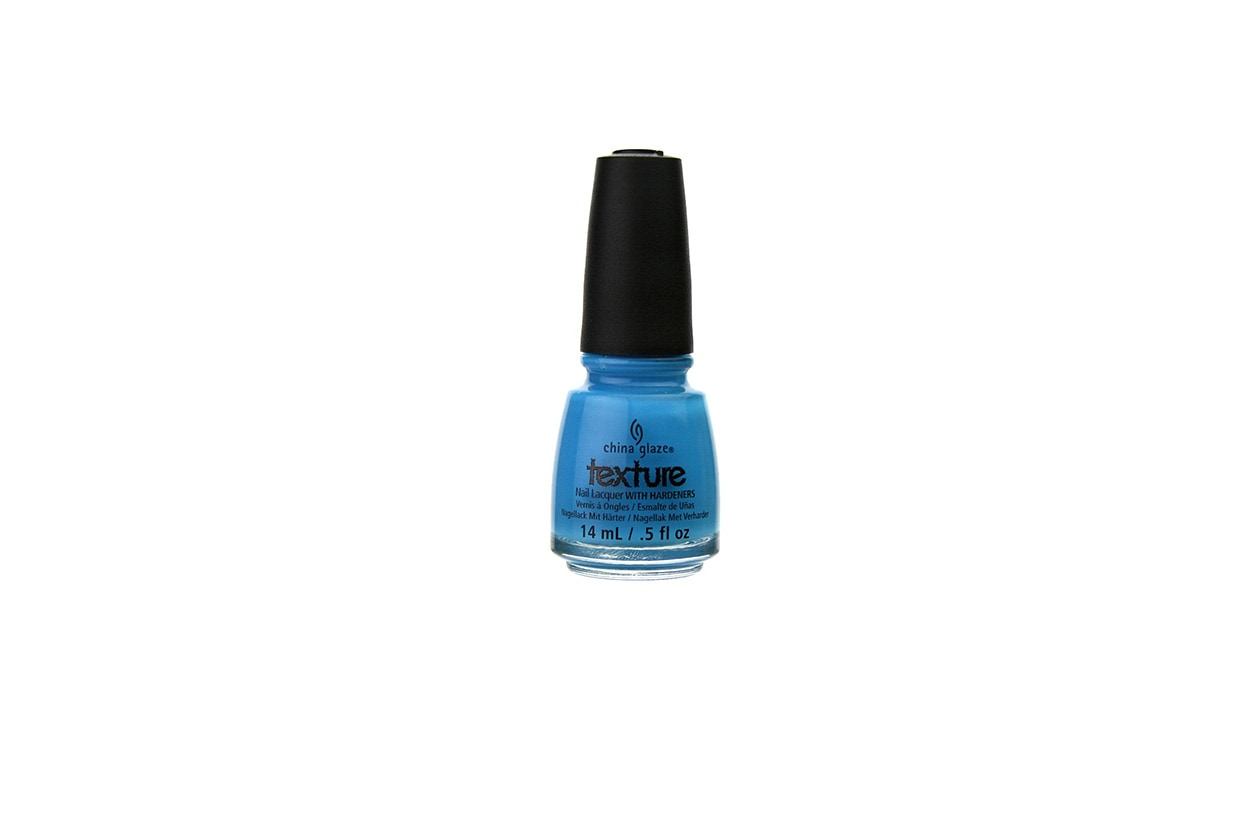 Beauty Placid Blue Manicure china glaze of coarse