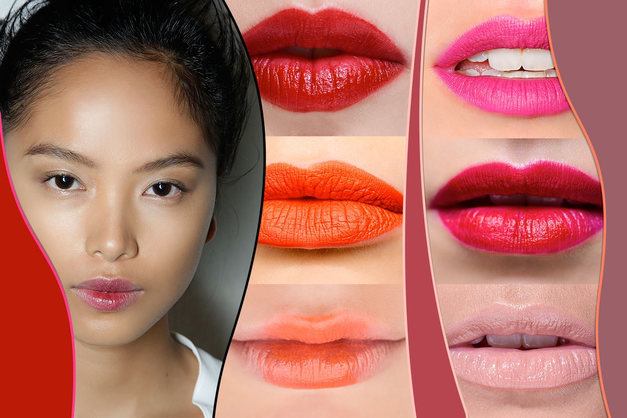 Beauty TRENDY LIPS 2014​ 00 Cover collage