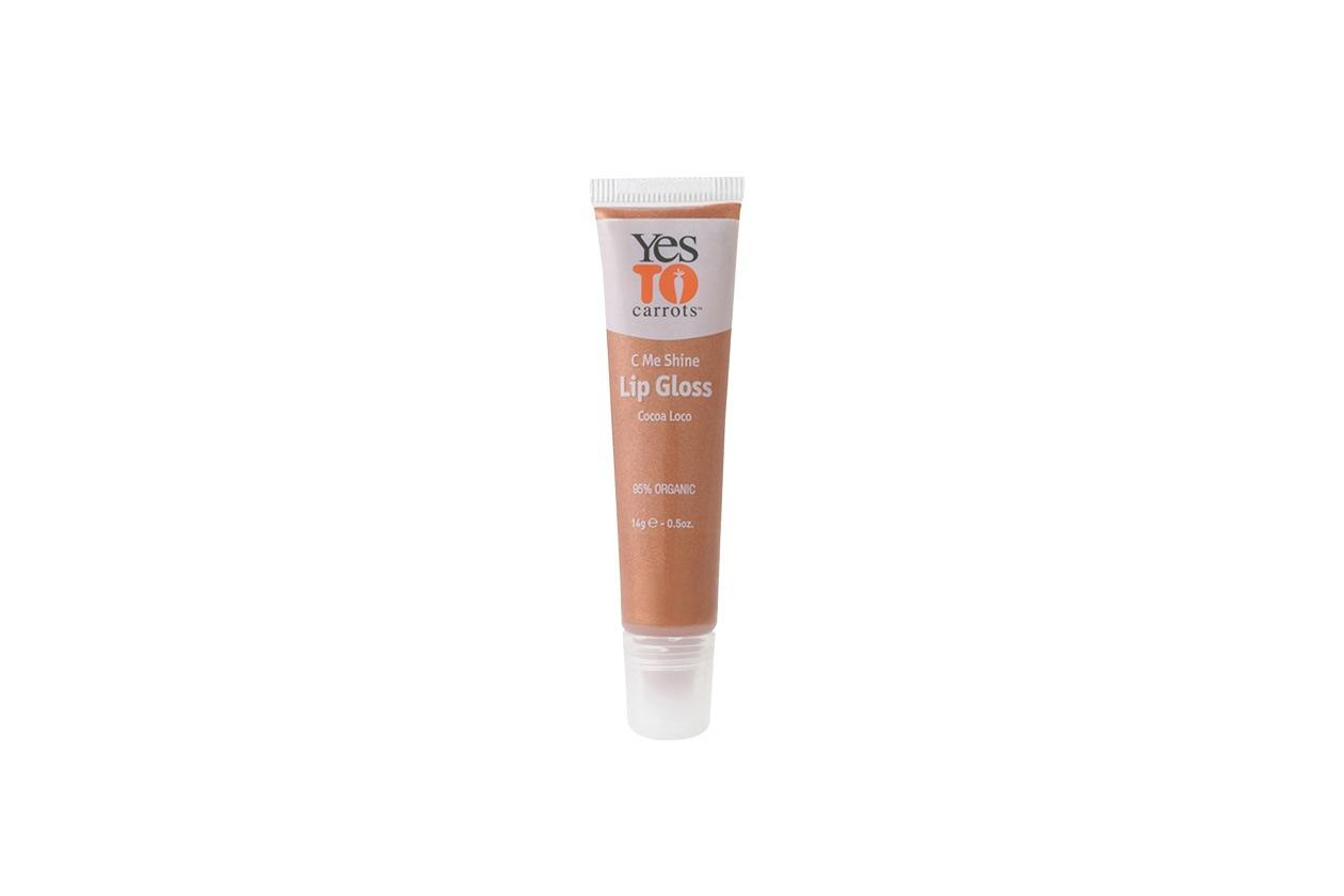 Completa il make up naturale il lip gloss in Cocoa Loco di Yes TO