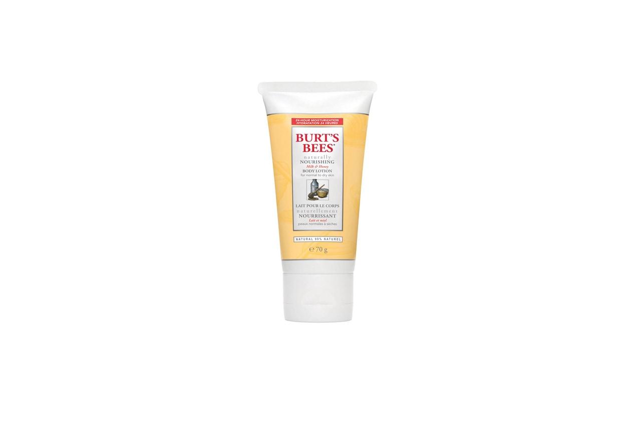 Cremoso, dolce e nutriente il Latte per il corpo di Burt's Bees