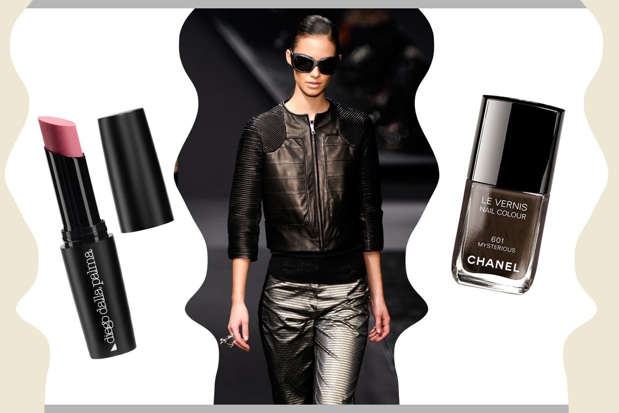 EFFETTO METAL: bagliori invernali (Krizia – Chanel – Diego Dalla Palma)