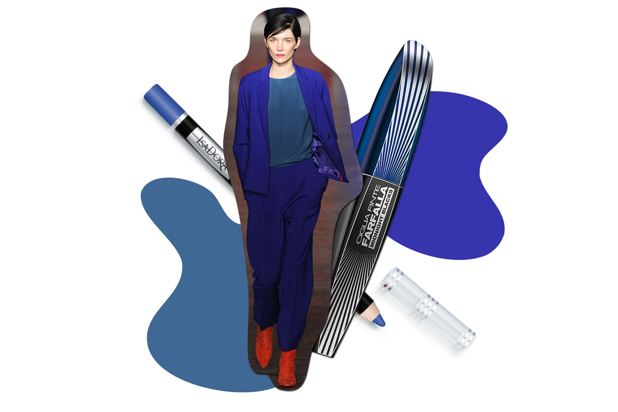 ELECTRIC MOOD: protagonista il blu elettrico (Paul Smith – Isadora – L'Oréal Paris)