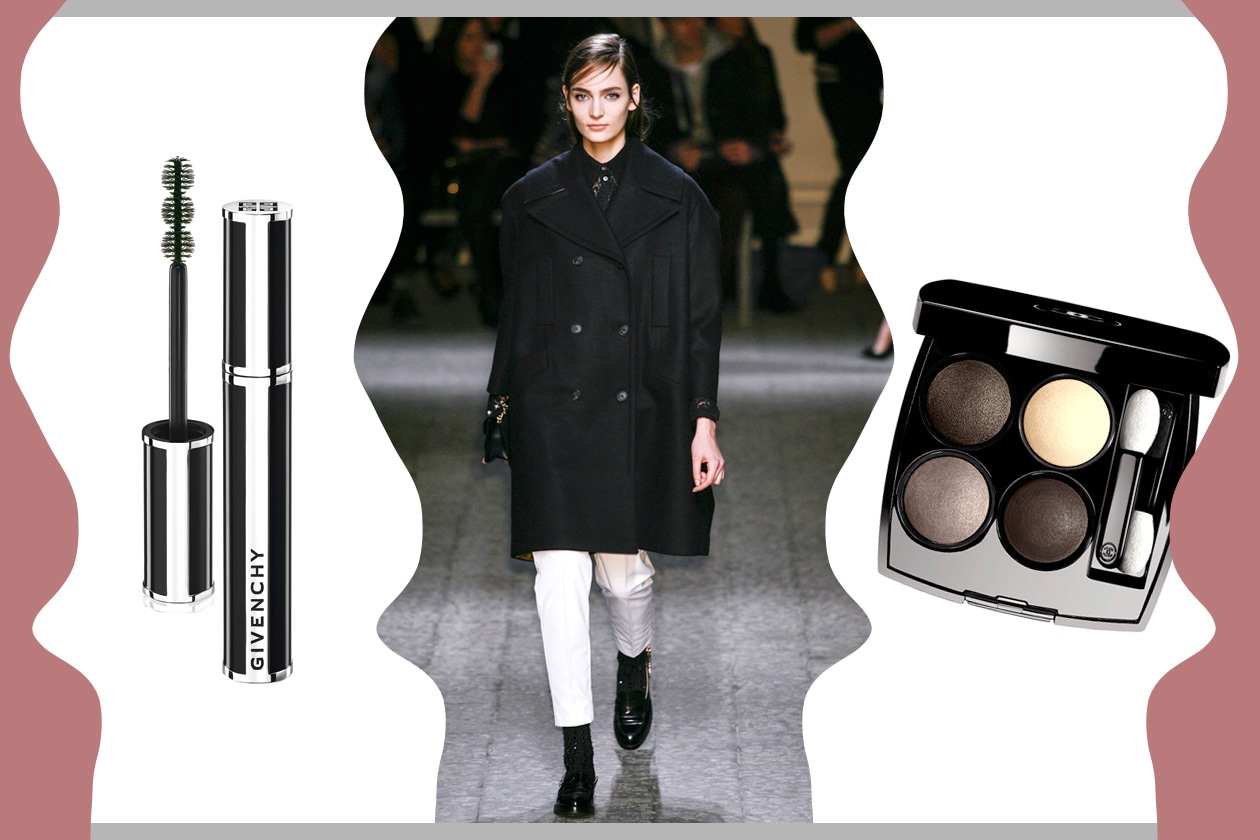 EXTRA-SIZE: maxi coat e occhi in evidenza (No.21 – Chanel – Givenchy)