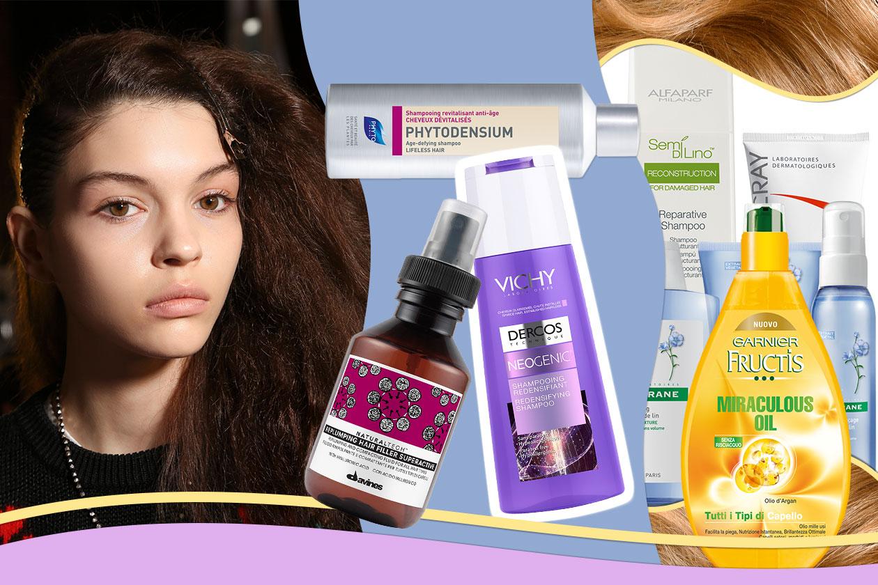 Gli antiage per i capelli: gli shampoo, i balsami e sieri che rendono la chioma più corposa e resistente. La selezione di Grazia.IT