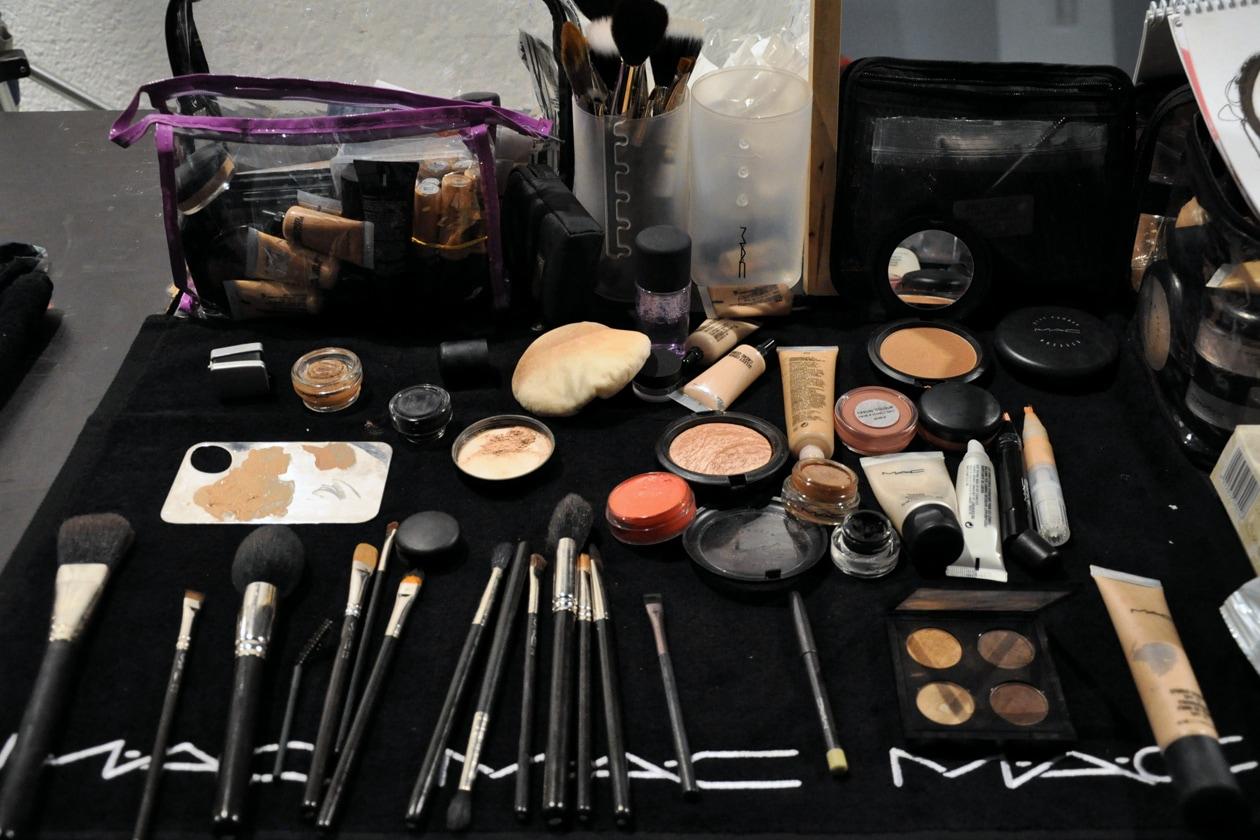 I prodotti MAC Cosmetics utilizzati nel backstage di Vivienne Westwood
