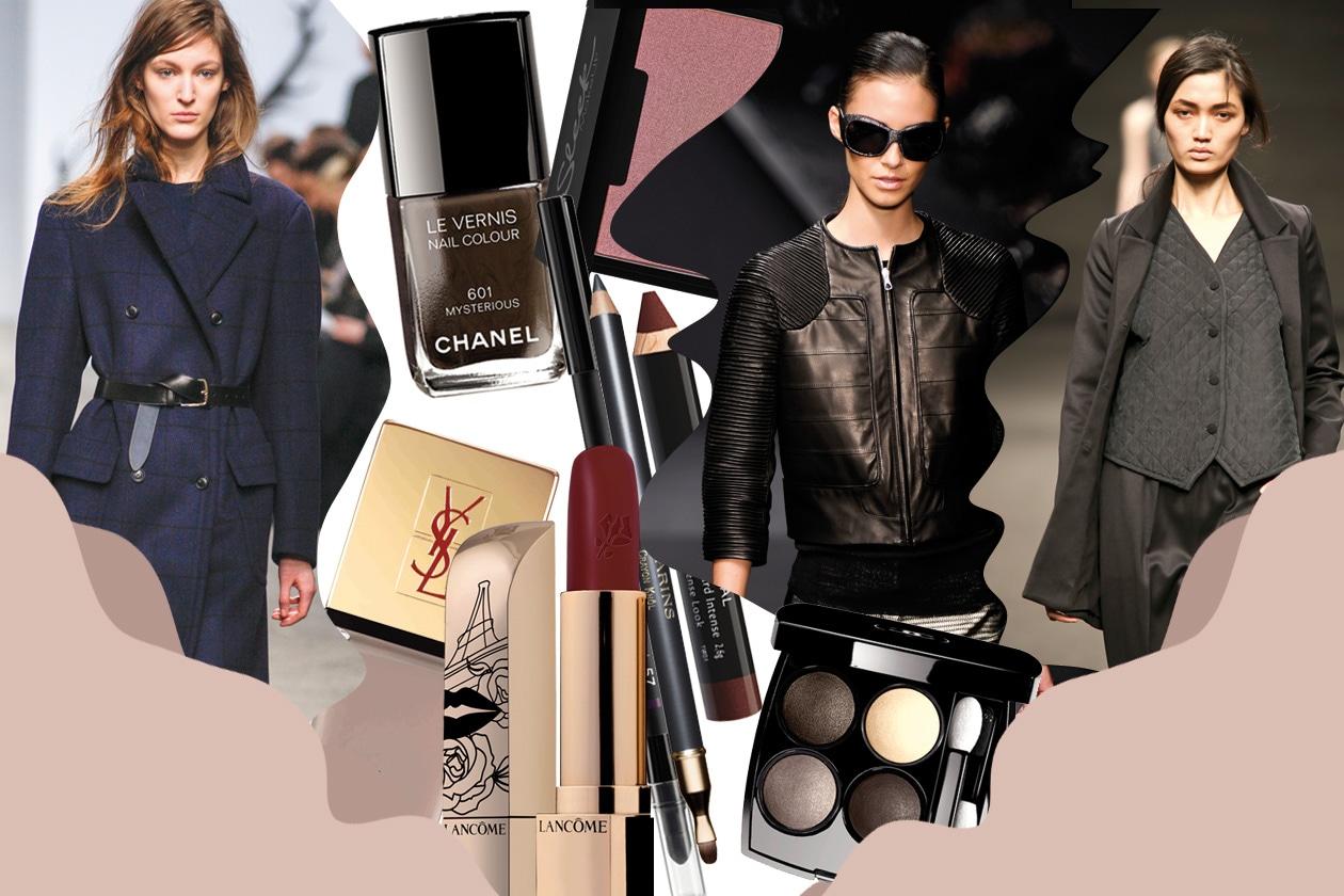 Il trucco giusto per i look ispirati al guardaroba maschile. Dieci abbinamenti beauty&fashion proposti da Grazia.IT