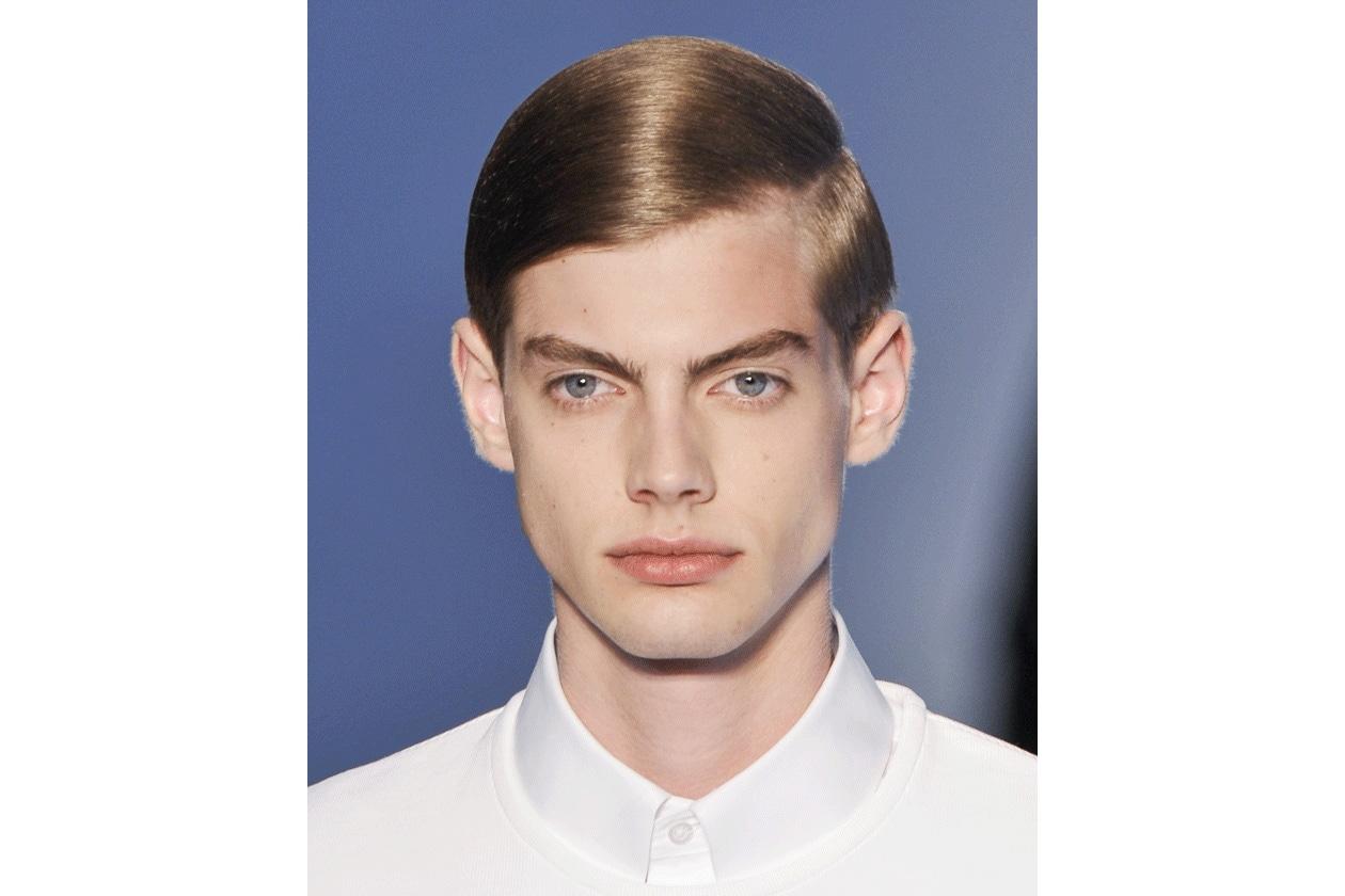 Lo styling è rigoroso (Jil Sander)