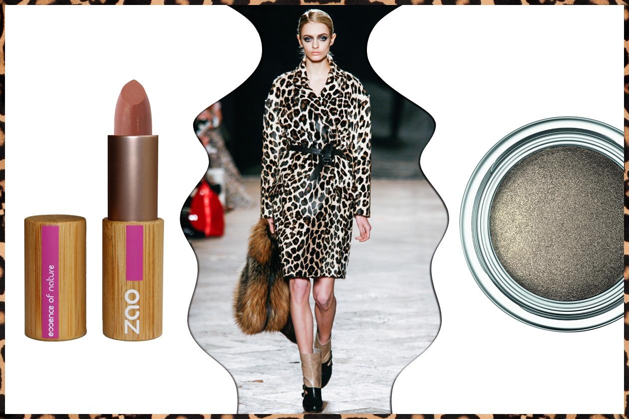 PELLE E PELLICCIA: cavallino per Simonetta Ravizza. Occhi con sfumature scure ma brillanti (Dior – Zao Makeup)