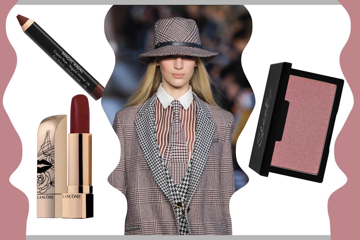 RIGHE, QUADRI E PIEDS DE POULE: spazio alla fantasia per abbinamenti originali (Tommy Hilfiger – Sleek – Lancôme – Givenchy)