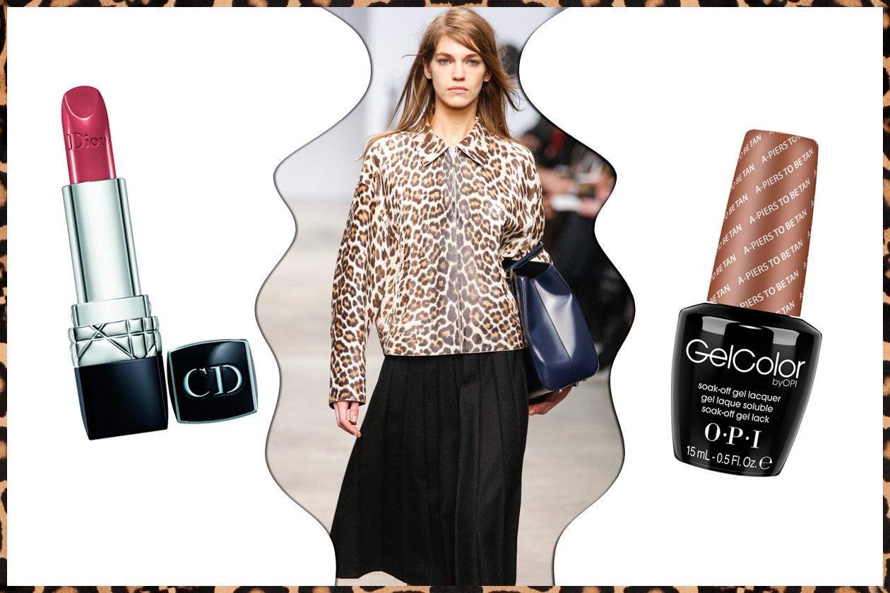 STILE COLLEGIALE: per un donna rigorosa e schiva (Trussardi – Dior – OPI)