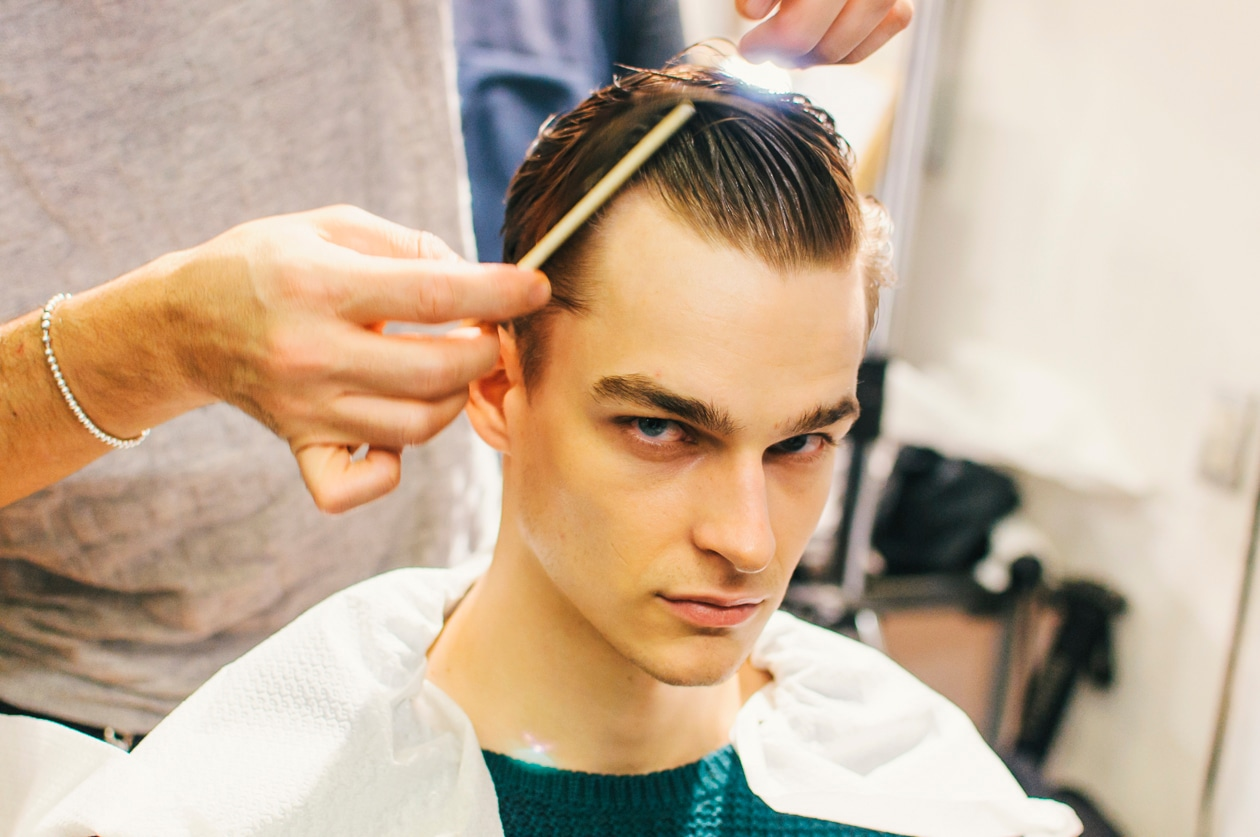 Thorben Gartner al parrucco