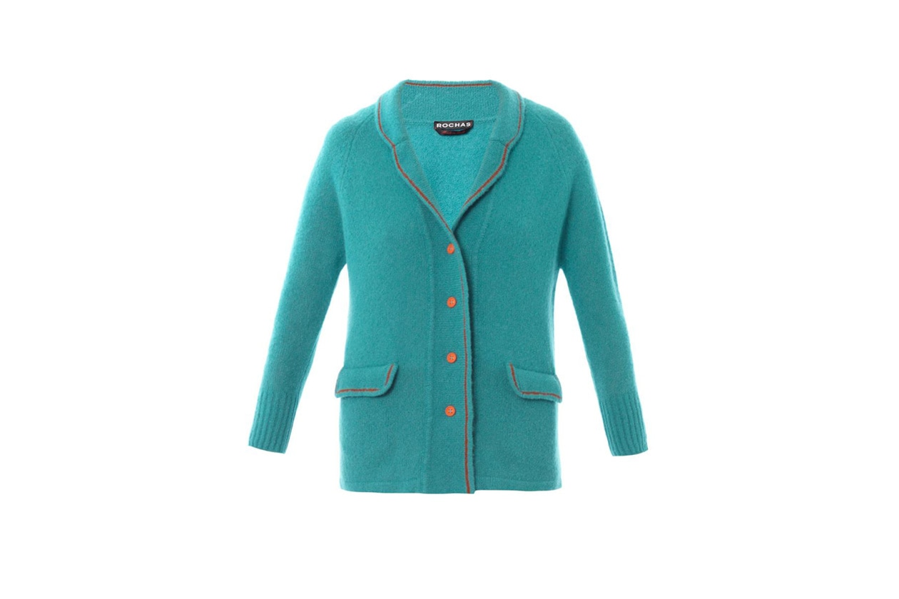 cashmere and silk cardigan rochas
