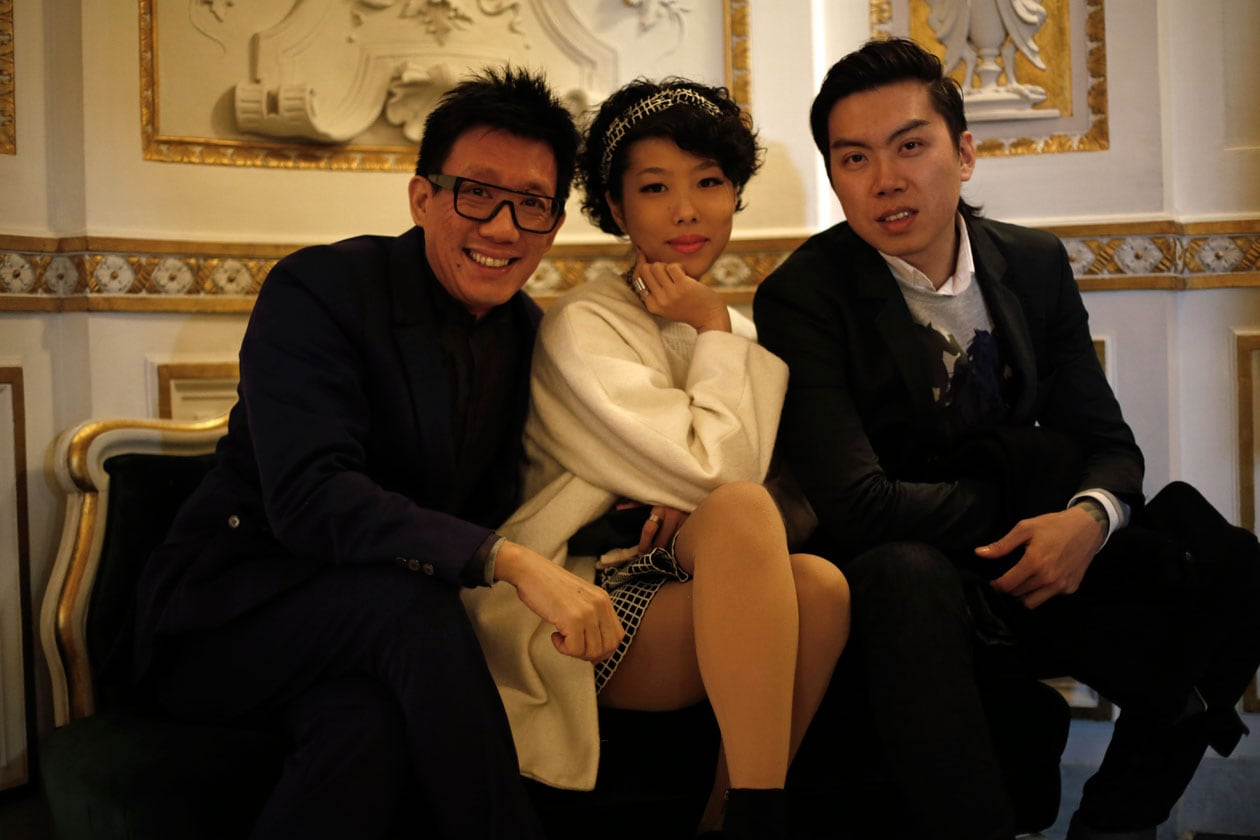 Daniel Boey, Audrey Ong and Dominic