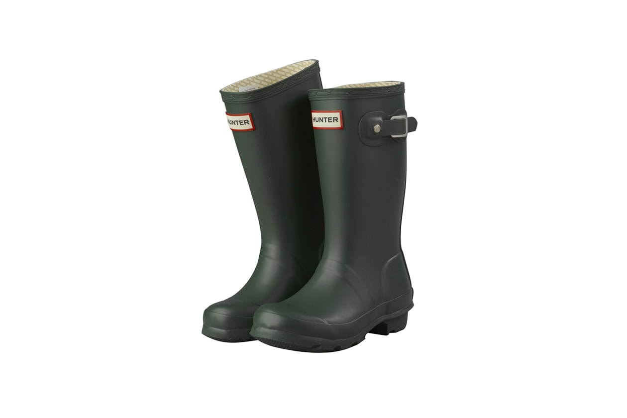 hunter wellies green