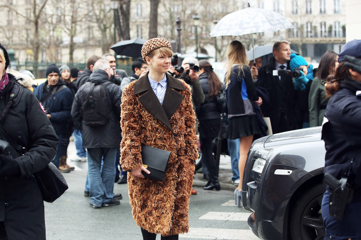 Haute Couture Street Style: Spring/Summer 2014