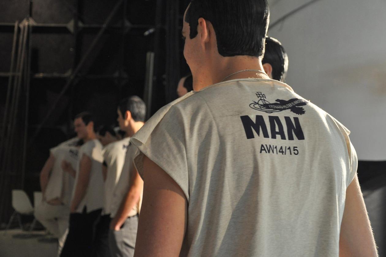 Vivienne Westwood A/I 2014-15: il backstage hair & beauty
