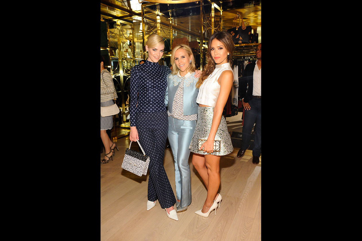 L'opening party di Tory Burch in Rodeo Drive