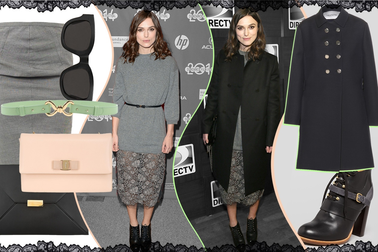 Copia il look bon ton di Keira Knightley