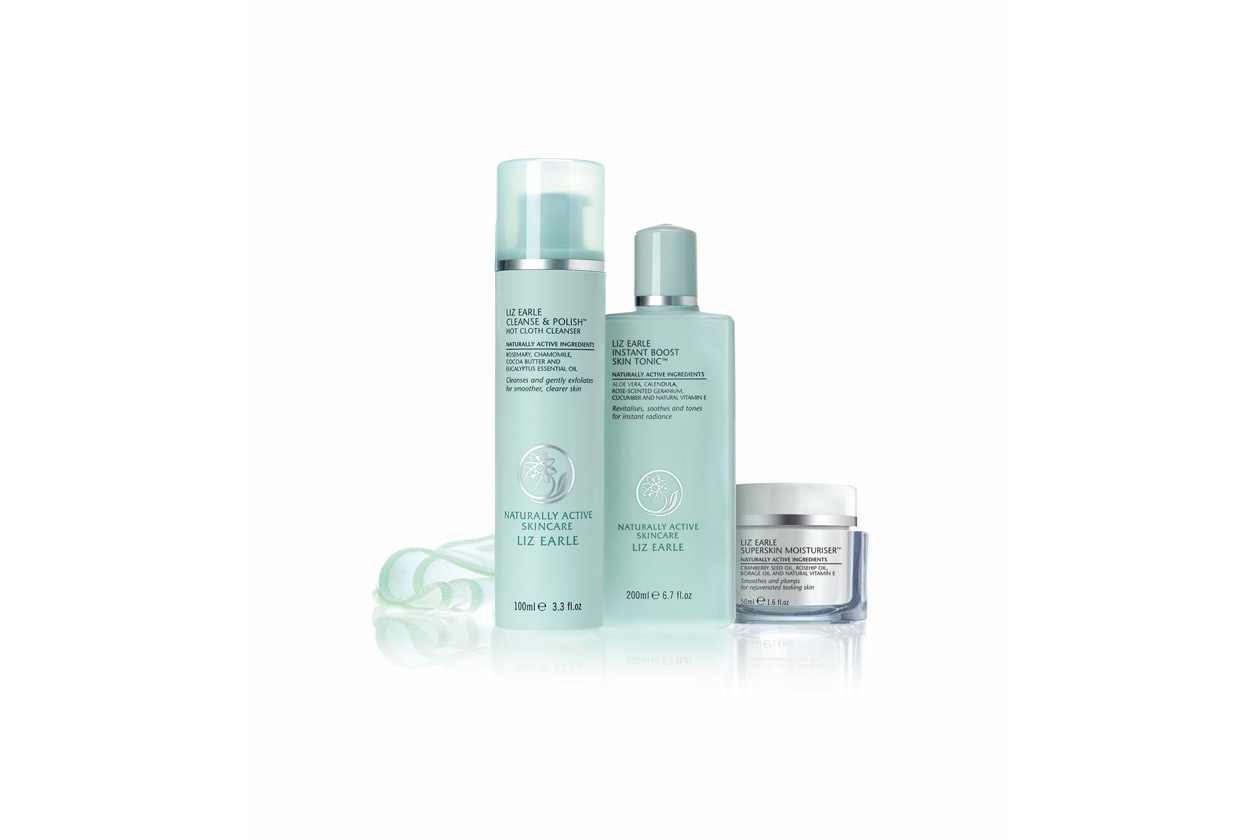 liz earle beauty routine