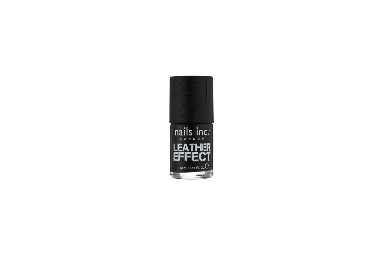 nails inc Noho Leather effect polish