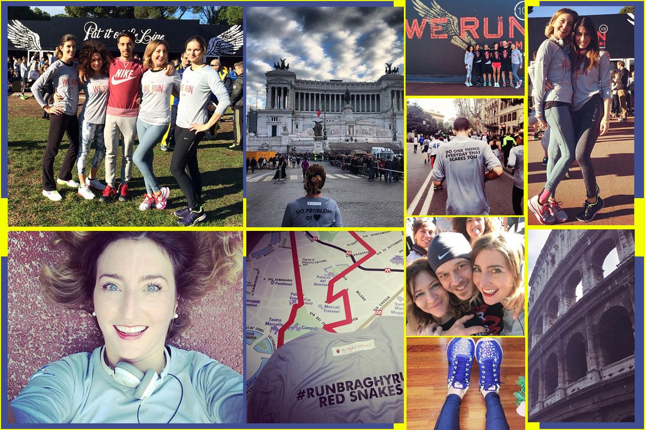 Nike: We Run Rome per il giorno di capodanno
