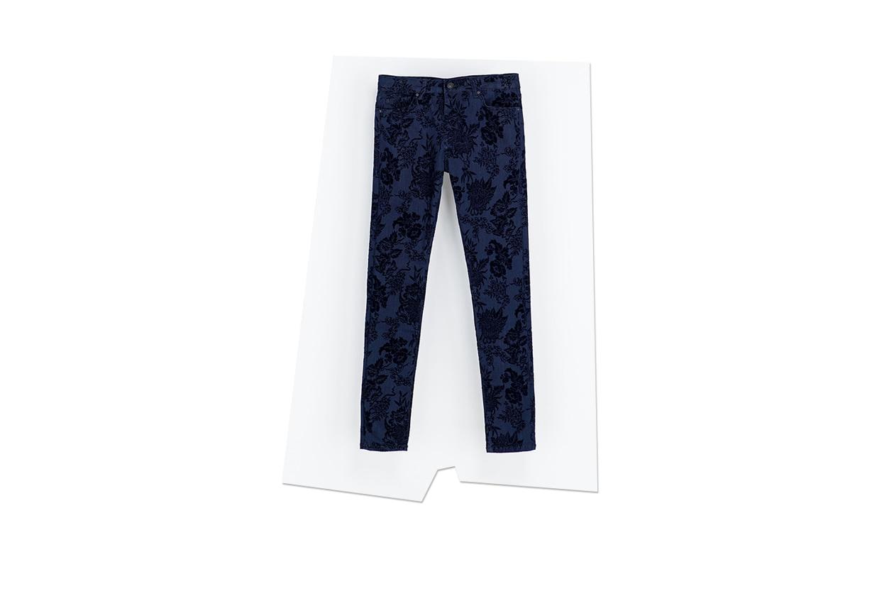 Fashion Sale zara jeans con stampa