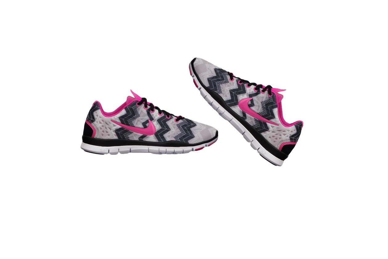 Fashion Sale Nike Free TR III Printed Womens Training Shoe 555159 015 A