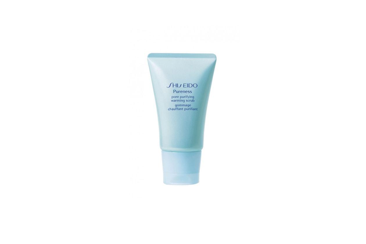 shiseido pore purifying warming scrub