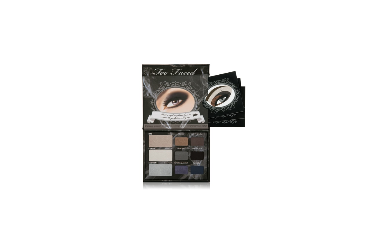 too faced smokey eyeshadow collection