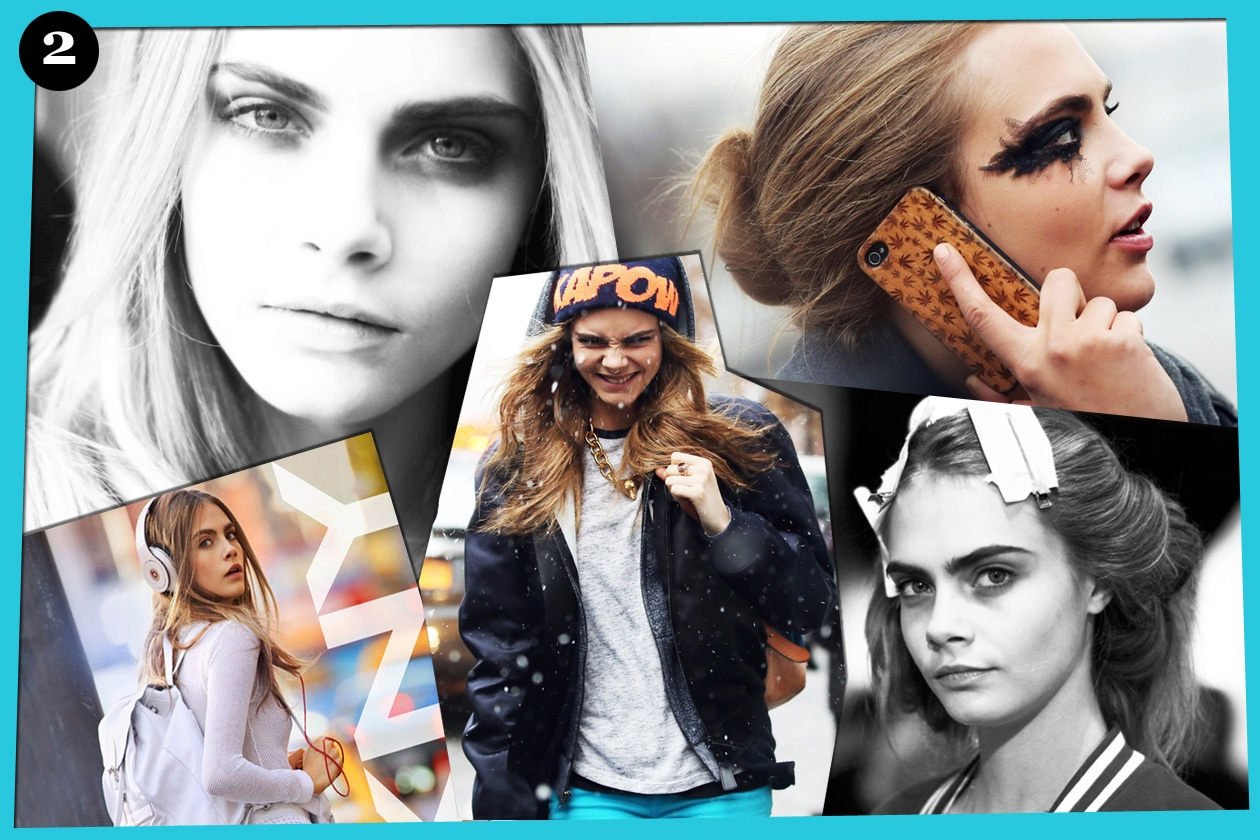02 Cara Delevingne collage