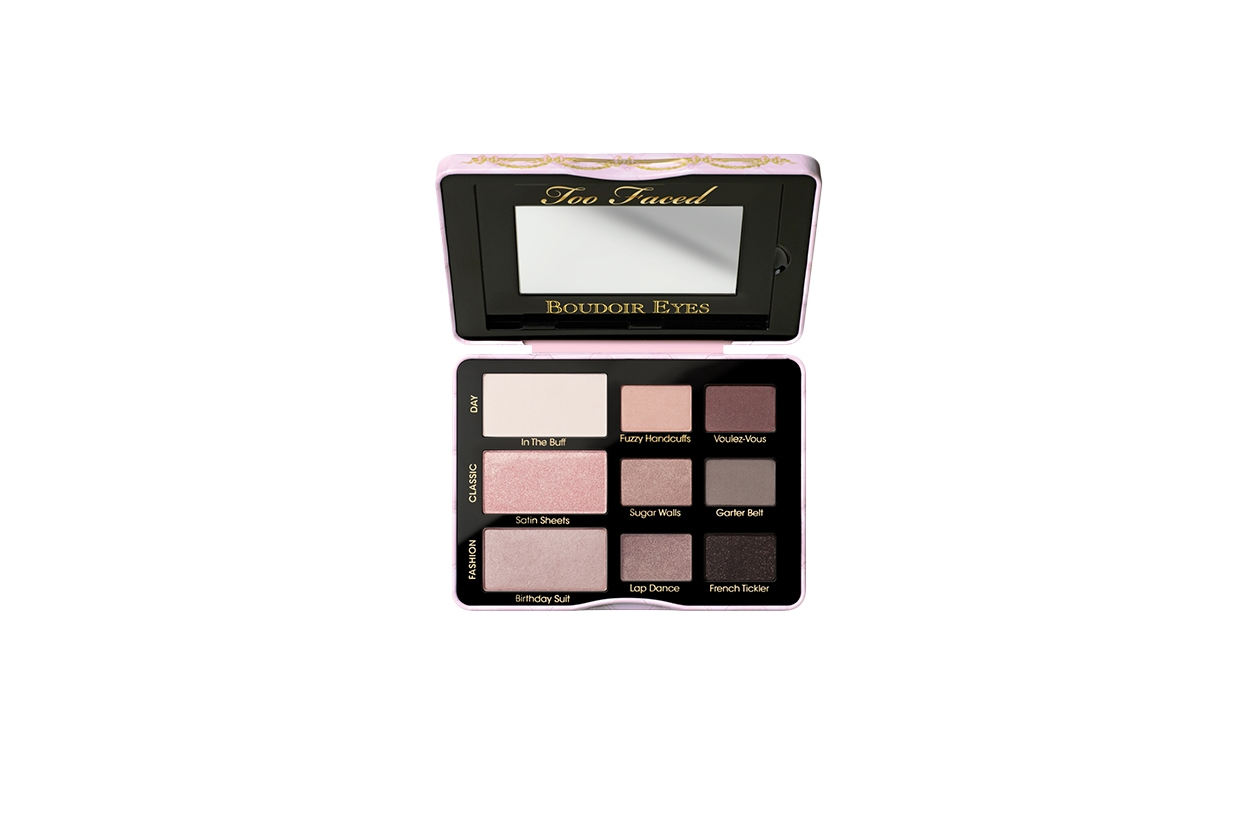 05 BEAUTY naked pink Too Faced Boudoir Eyes Shadow