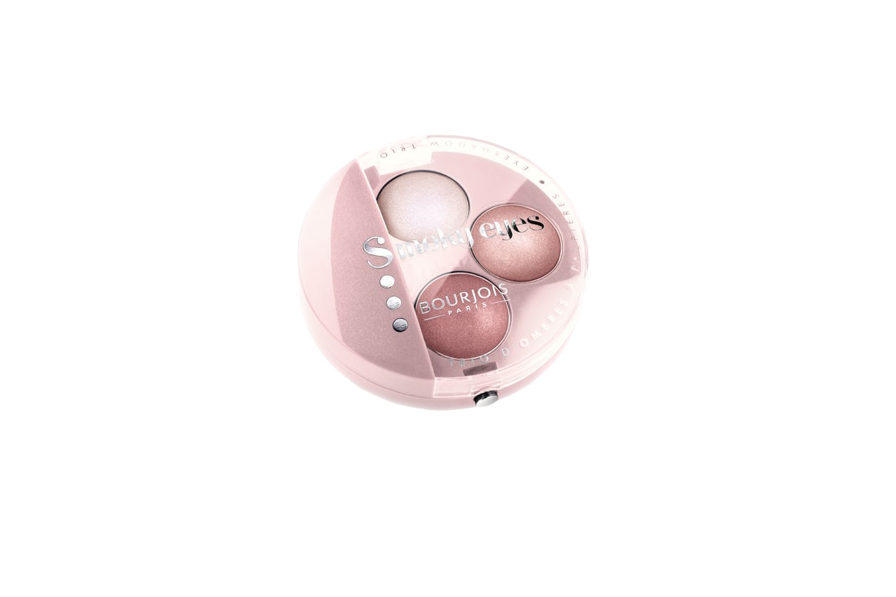 06 BEAUTY naked pink Bourjois Smoky Eyes, 17 Life is Pink