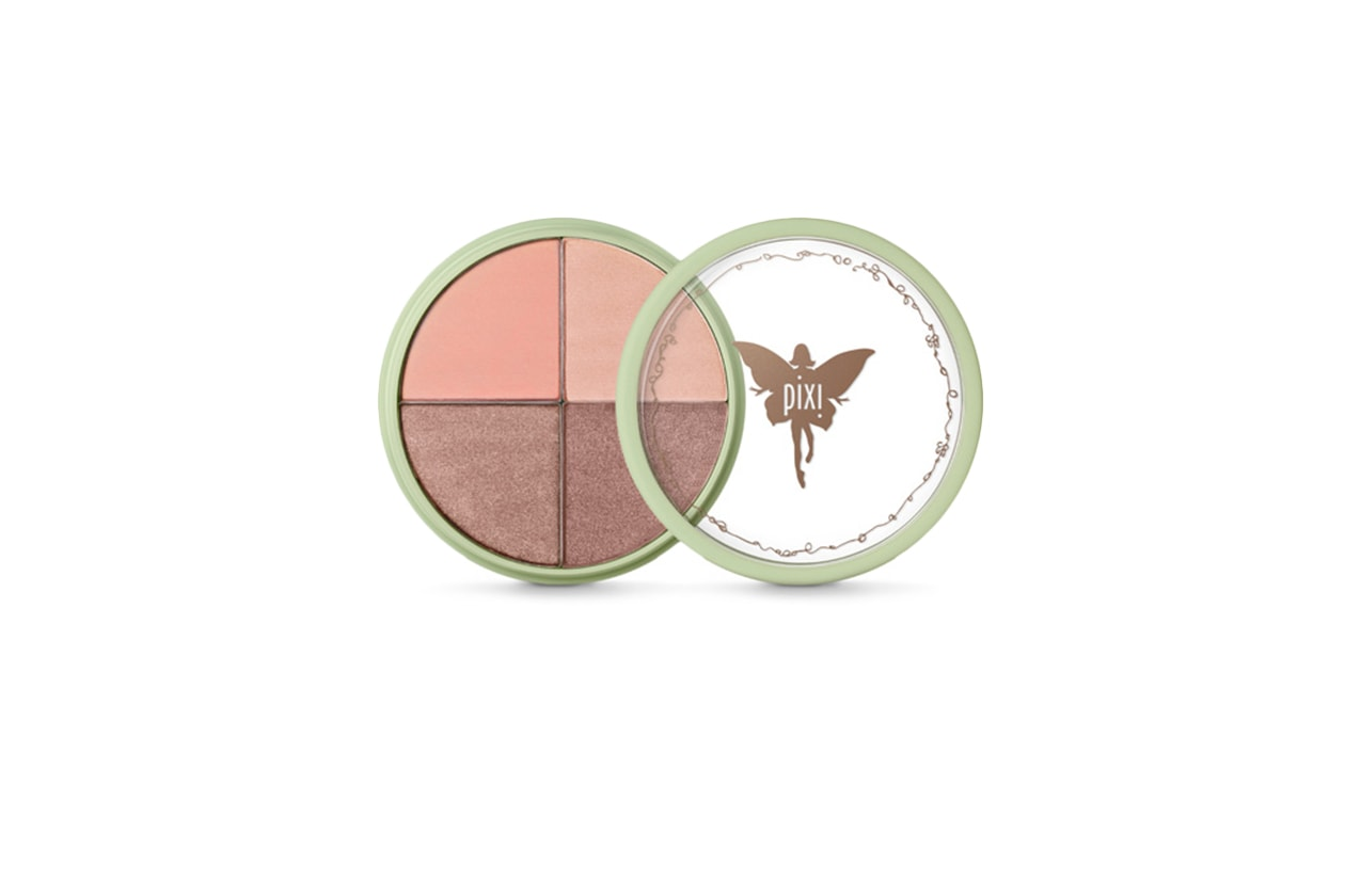 07 BEAUTY naked pink Pixi Shade Quartette, Peach