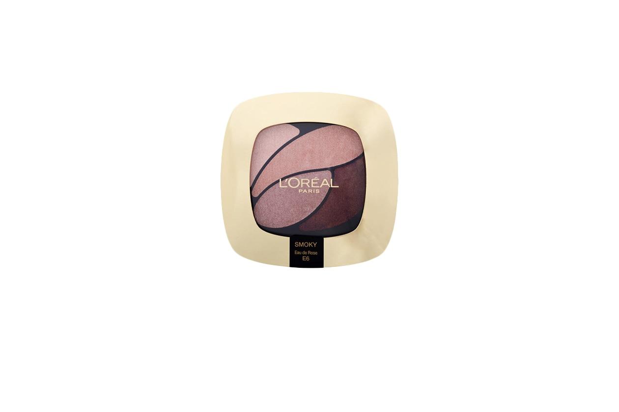 11 BEAUTY naked pink L'Oréal Paris Color Riche Quad, E6 Eau De Rose