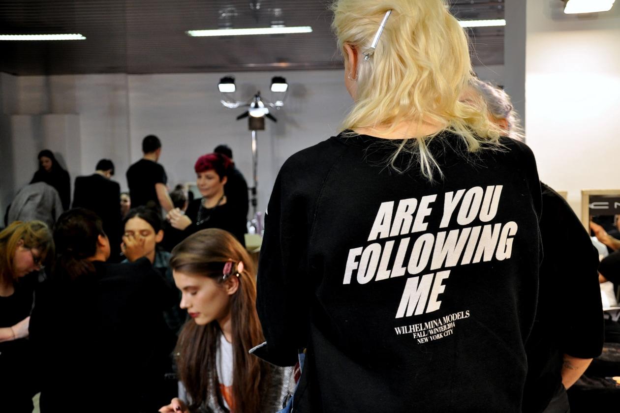 Are u following me?