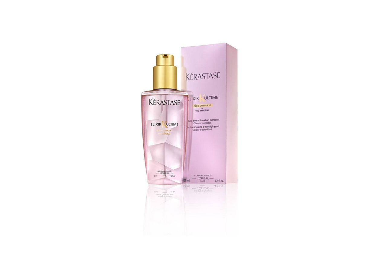 BEAUTY Lea Michele Capelli Kerastase K Elixir Ultime IMPÉRIAL TEA 1