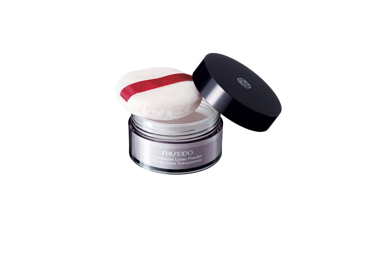 BEAUTY ciprie opacizzanti shiseido translucent loose powder