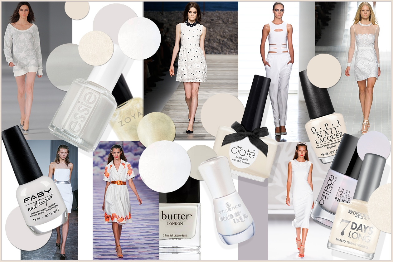 BEAUTY moda & nails in white 00 Cover collage