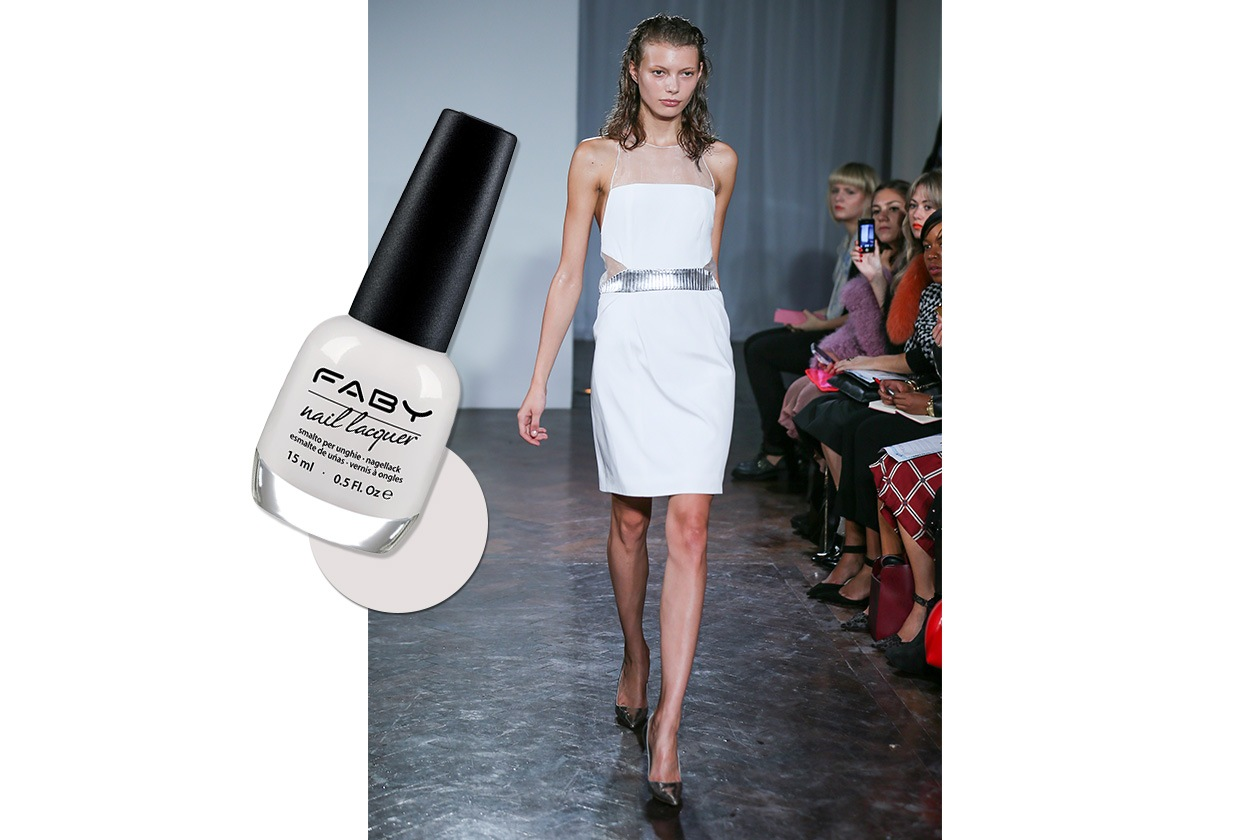 BEAUTY moda & nails in white Felder Felder Faby