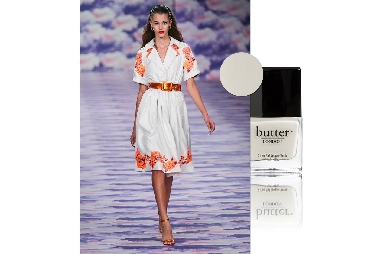 BEAUTY moda & nails in white House of holland butter london